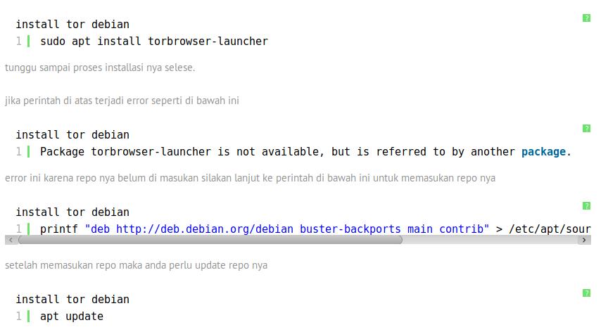 cara install tor browser di debian