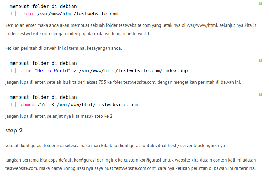 cara configurasi virtual host di nginx