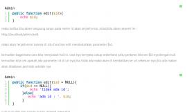 cara menghindari error pada controller codeiginter yang memiliki parameter