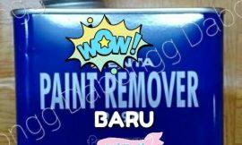 Tidak perlu beli, begini cara mudah membuat paint remover