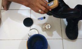 Beginilah cara mudah membuat semir sepatu cair