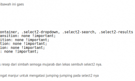 cara simple plus ampuh mengatasi select2 scroll ke atas waktu di klik
