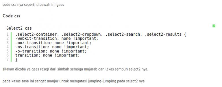 cara simple plus ampuh mengatasi select2 scroll ke atas waktu di klik