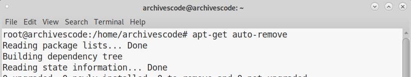 Cara menghapus semua game di gnome debian, Archivescode