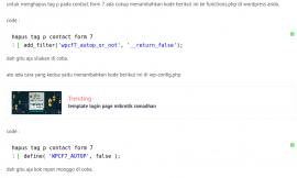 Remove / menghapus tag p pada contact from 7 wordpress